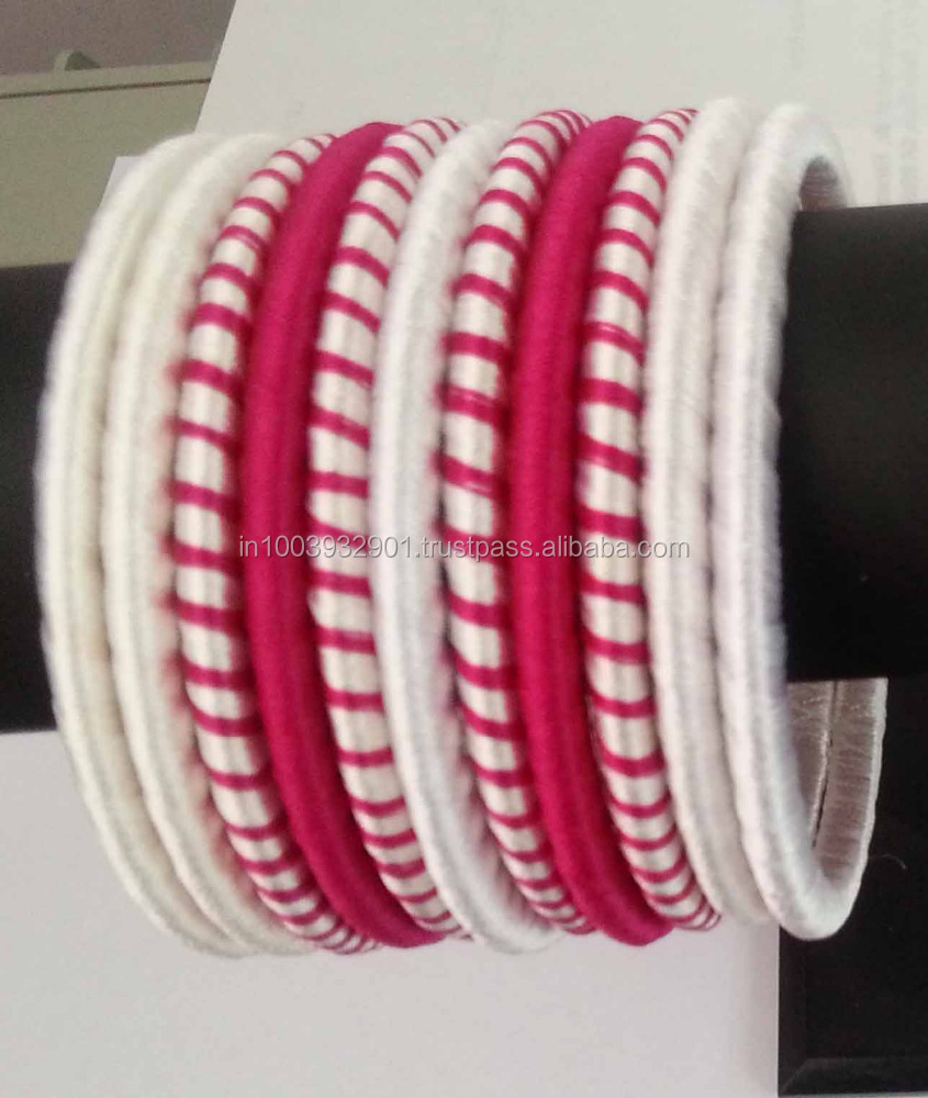Silk Thread Bangle/Girls Fashion Bangle/Bracelet online India