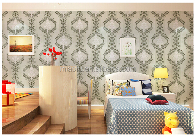 Decorative self adhesive cheap living room 3d wallpaper for Cheap living room wallpaper