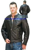 Vented Concealed Weapon Scooter Leather Jacket, Fashion Leather Jacket, Motorcycle Leather Jacket