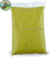 100% Natural Green Frozen Fruit from Vietnam with High Quality Avocado Pulp