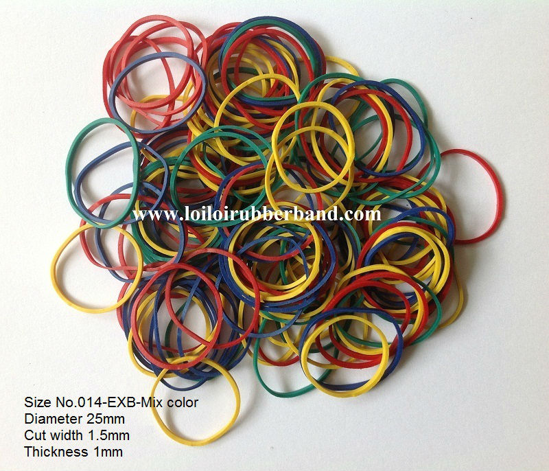 Good quality rubber band mix size and color - HOT SALE rubber bands small pack fun loom rubber bands for children
