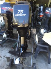 Used Mercury 75 HP Outboard Motor Engine