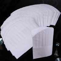 white non woven fabric hat/disposable chef cap made in china