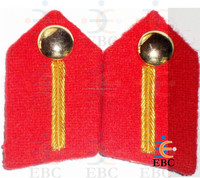 Gorget Patches Colonel / Brigadier, Military Uniform Items