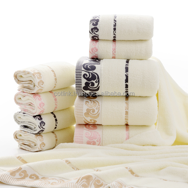 Fancy Cotton Terry Towels