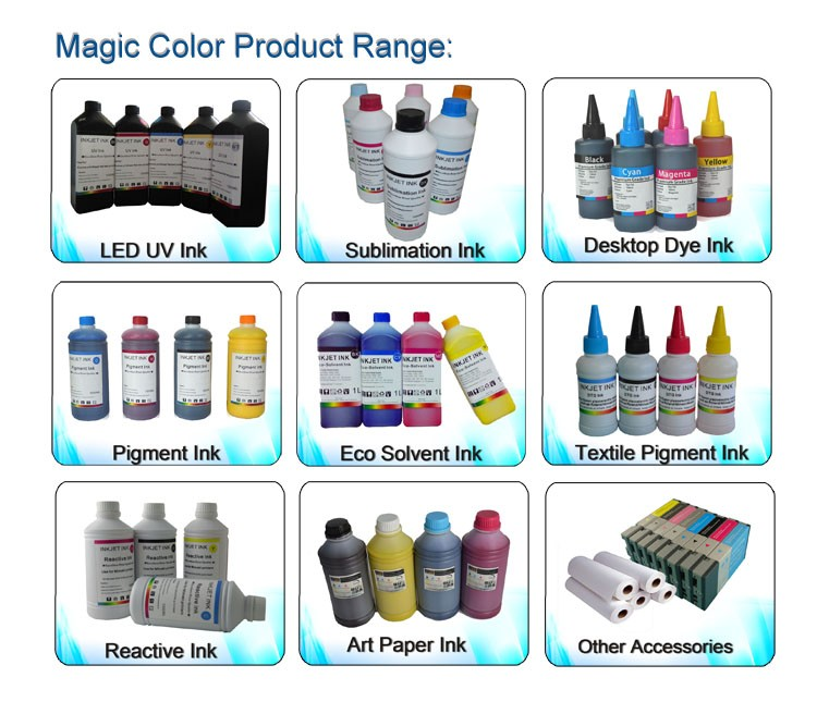 UV Curable Ink for DX4, DX5, DX7 UV LED printer