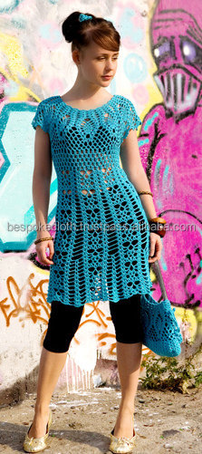 Latest Stylish Handmade Crochet Tops Dress