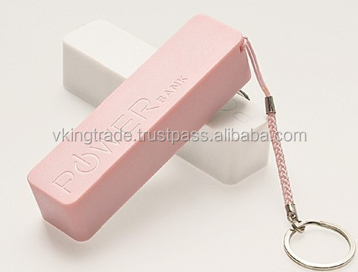 Vking Good Quality Perfume Charging Treasures Double Usb Power Supply