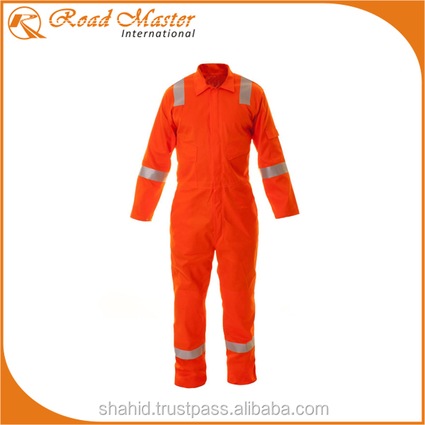 Orange Reflector Coveralls With New Pockets Styles