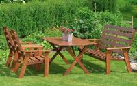 Garden furniture from wood - pine, spruce ext