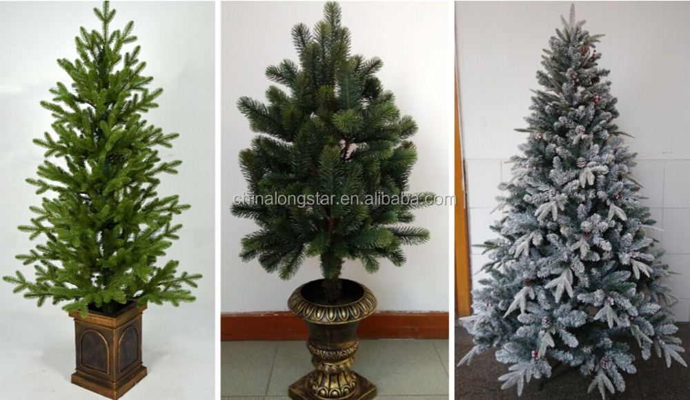 2015 high quality PVC christmas tree,wholesale artificial christmas tree with 6 sizes