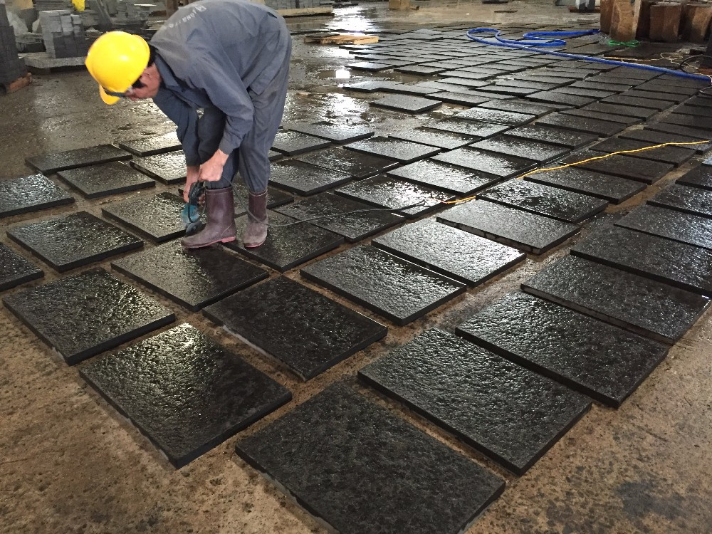 Flamed Basalt Tile