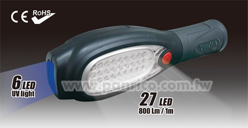 Made in Taiwan Super Bright Led Magnetic and Hook Folding Waterproof LED Light LED Work Light LED Flashlight