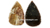 Wholesale Agate Arrowheads knives blades Handmade agate artifacts : Agate Arrowheads