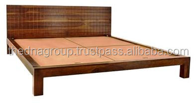 New Chex Design Wooden King Size Bed