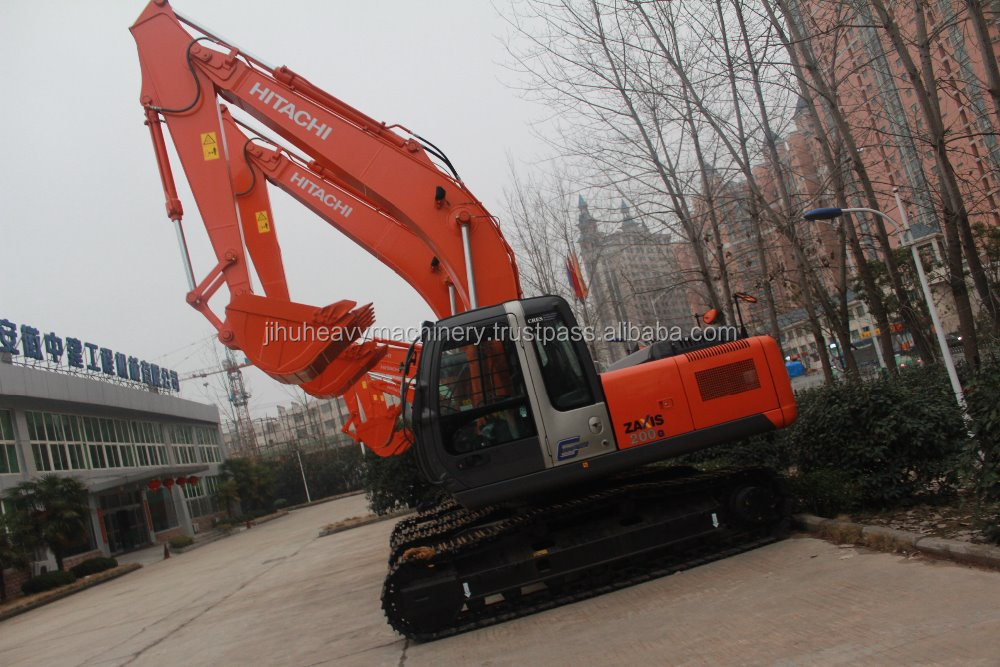 used Hitachi EX200-5 amphibious excavator, and zx200,zx210,ex200-1,ex200-2 for sale