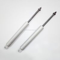 Block lift gas springs for medical equipment