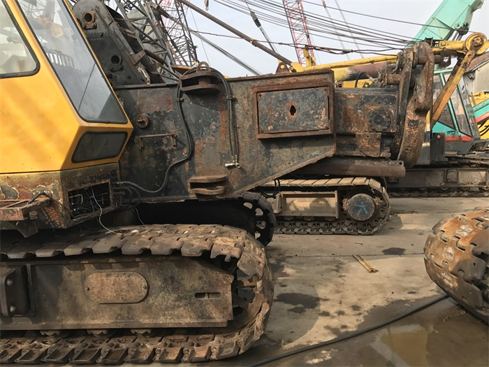 Construction Machinery 55 Ton Kobelco Used Hydraulic Pile Driver 110P
