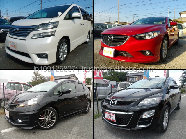 Wide variety of Japanese used luxury car huge stock available