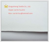 PU coating knitting 100 polyester fabric for ceiling decoration