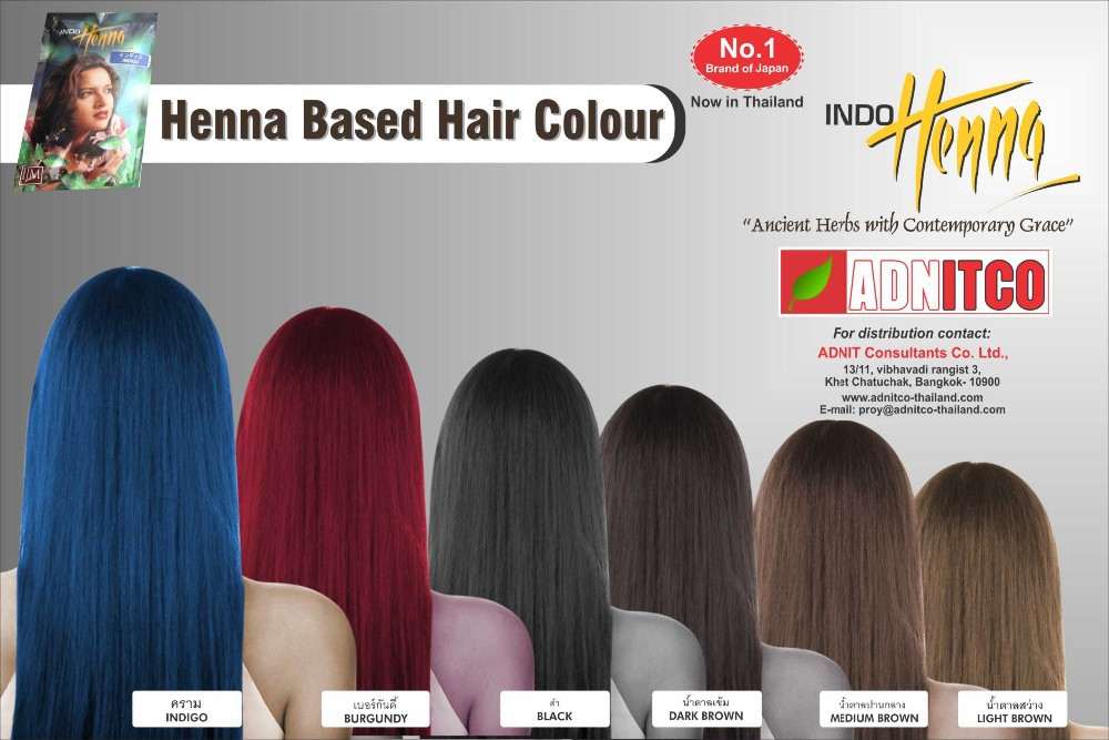 HENNA BASED HAIR COLOR