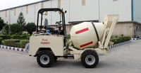 Heavy Duty Concrete Self Loading Mixer with fully Automatic Control System