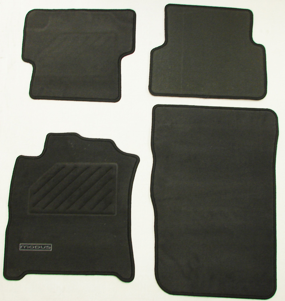 Genuine Renault Modus Floor Mats Set Carpet Mat 7711227514 LEFT HAND DRIVE