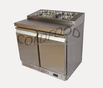 Refrigerational air cooling refrigerated sandwich counter