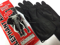 7 DAYS SHIPPING! Good Quality Malaysia Made Black Industrial Rubber Glove for building construction, agriculture, cleaning