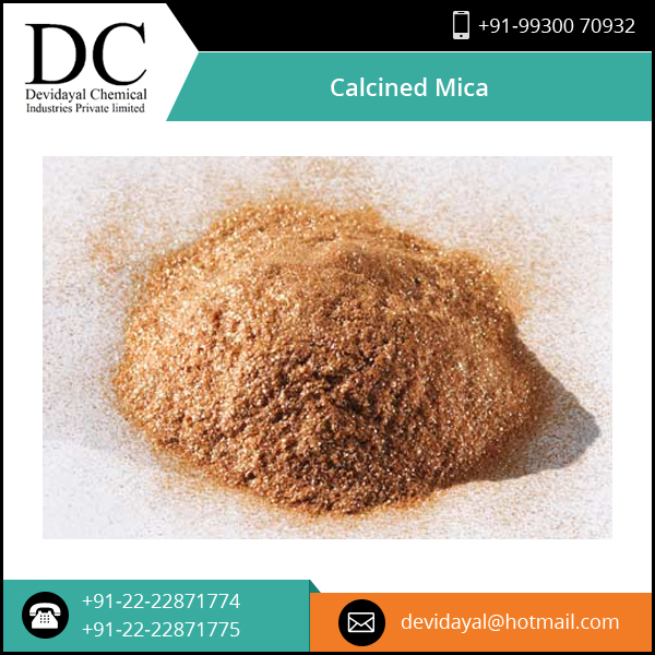 Affordable Price Quality Assured Calcined Mica from Top Manufacturer