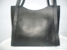 Genuine cow napa leather lady tote bag