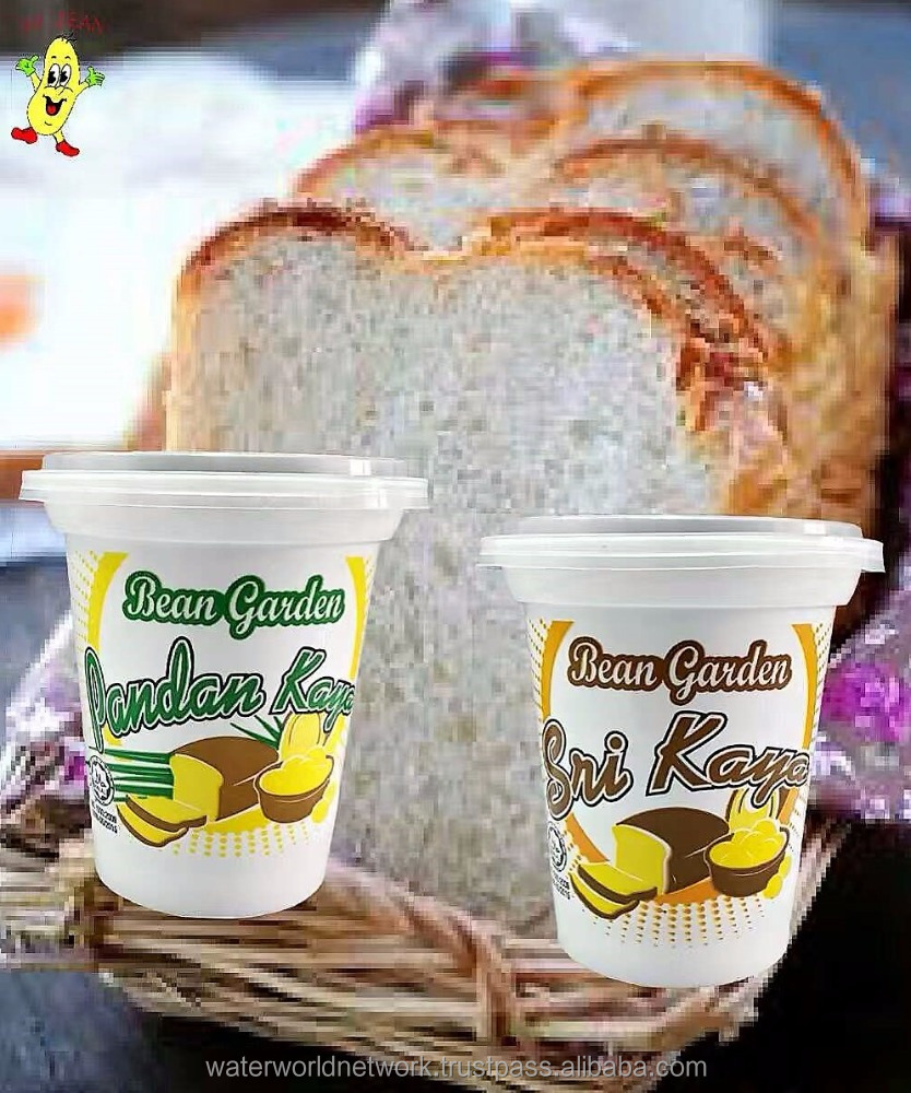 bread spread, spread paste jam kaya and pandan flavor