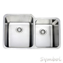 Heavy Stainless Steel 32 Inch Malaysia Made Kitchen UPC Sinks