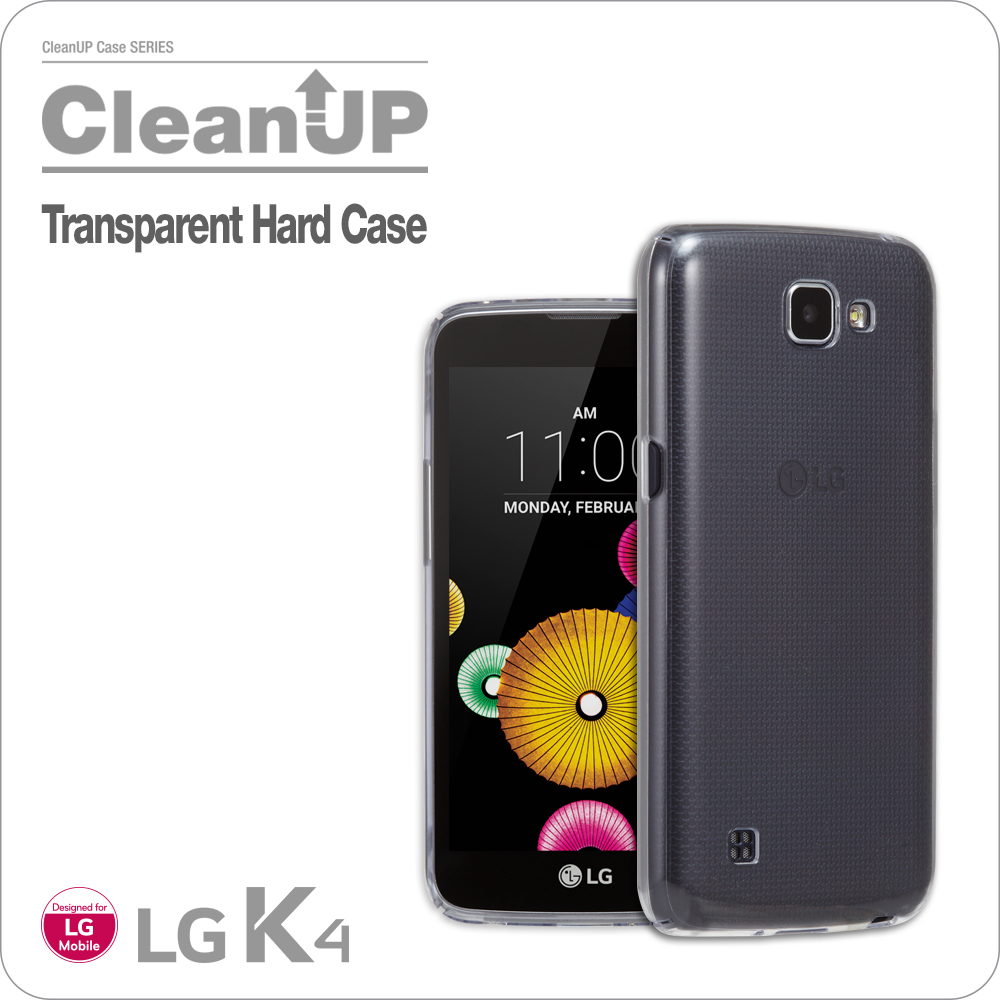 VOIA for LG K4 Transparent Hard case