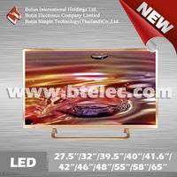 Sample order available Aluminum cabinet China 32 inch smart LED TV