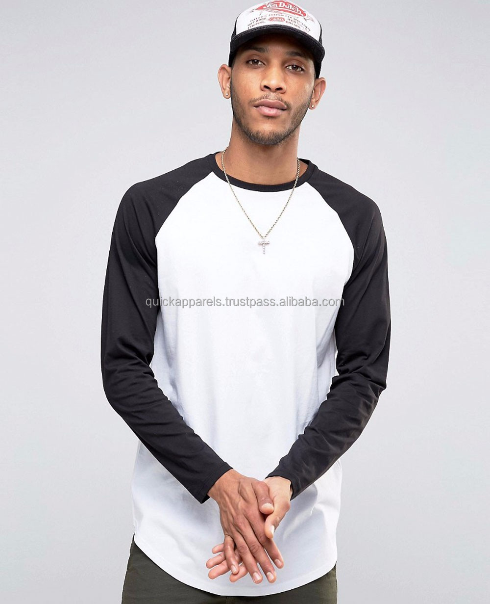 Men Stretch Jersey Longline Cut Women New Design fashion stylish tee shirt ladies Cotton T Shirt