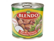 BLENDO CANNED BEEF 250 GR EASY OPEN LID