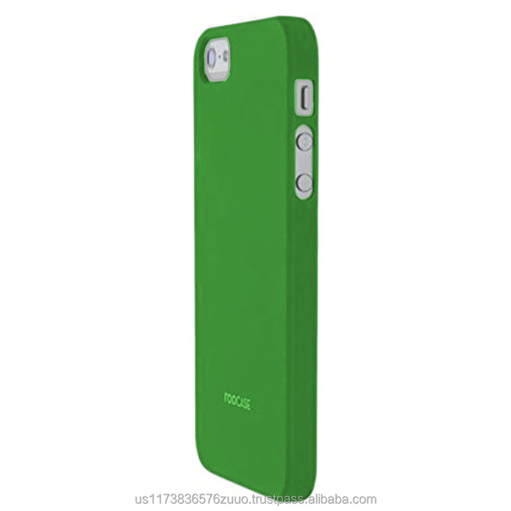 S1-R series Ultra slim shell case with polyurethane matte coating for iPhone 5/5s (not compatible with 5c) roocase (Green)