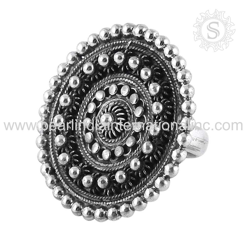 New Design Plain Silver High Polish Ring Lady Fashion 925 Sterling Silver Jewelry Supplier Wholesale