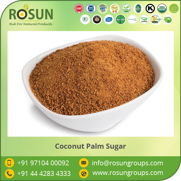 A Grade Vitamins Contain Organic Coconut Palm Sugar from Top Exporter