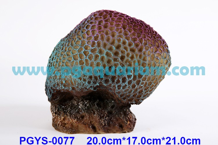 PG Aquarium Decoration Artificial Coral Reef Insert