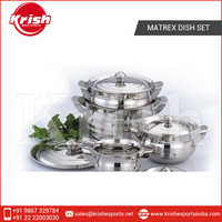 2015 Best Selling Cookware Set with Exterior and Interior Mirror Polishing