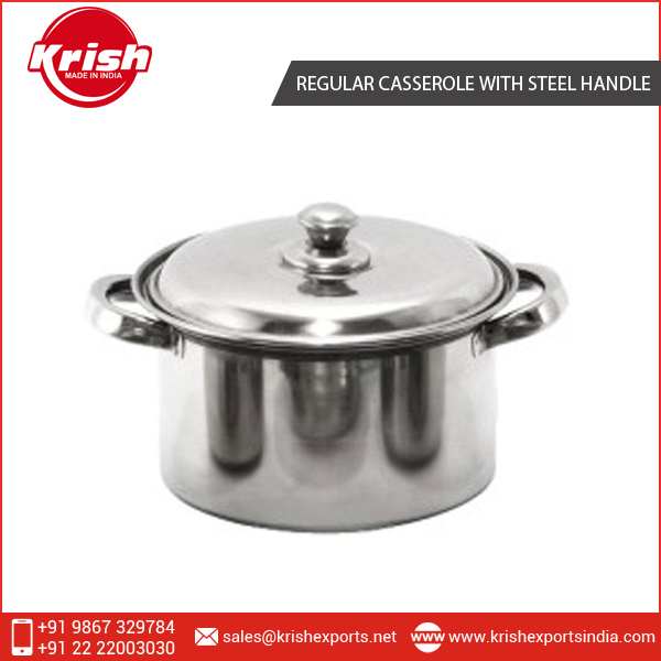 Superior Quality High Grade Casserole with Steel Handle