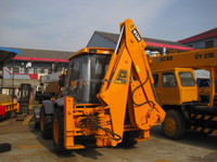 Used Backhoe loader JCB 4CX for sale, cheap used UK backhoe loader JCB 4CX 3CX Hot Sale in Shanghai