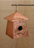 Celtic Patterned Bird House