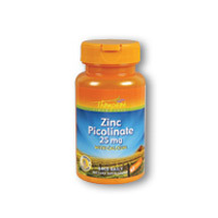 Zinc Picolinate, 25 MG, 60 Tabs by Thompson