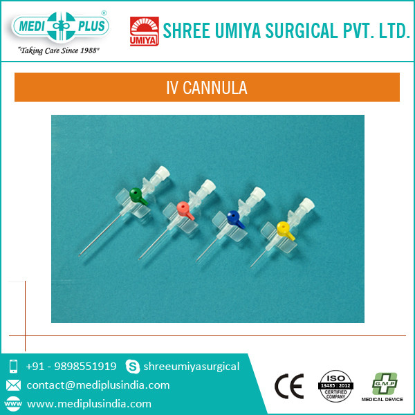 Medically Best Manufacturer IV Cannula with Injection Port