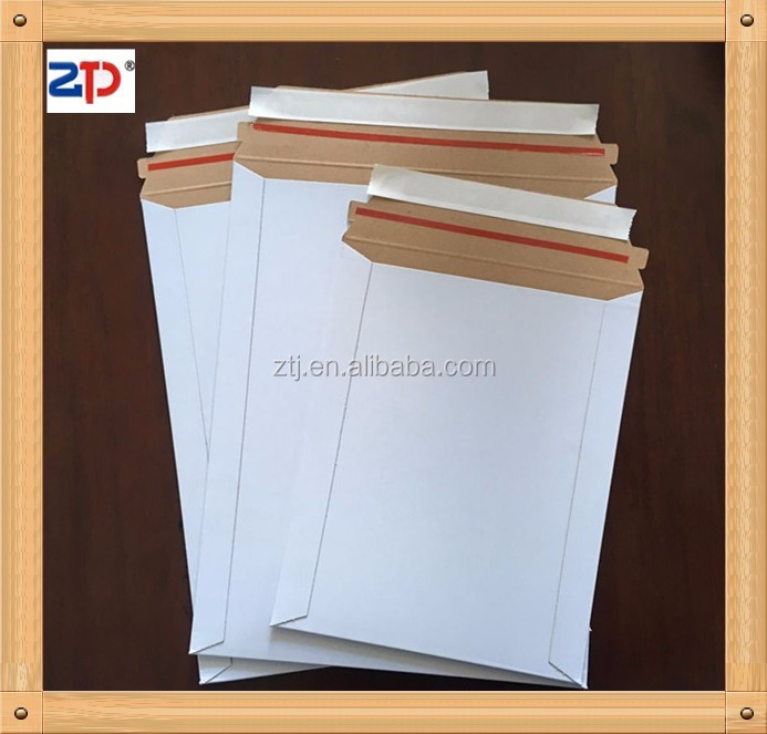 Stay flat mailer white photo/document mailers