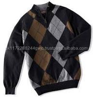 Pakistani Garment factory man wool cashmere sweater wholesale