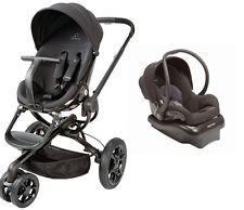 Quinny Moodd Travel System in Black Devotion With Stroller & Mico NXT Car Seat